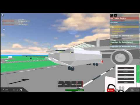 Roblox: How To Fly A Plane