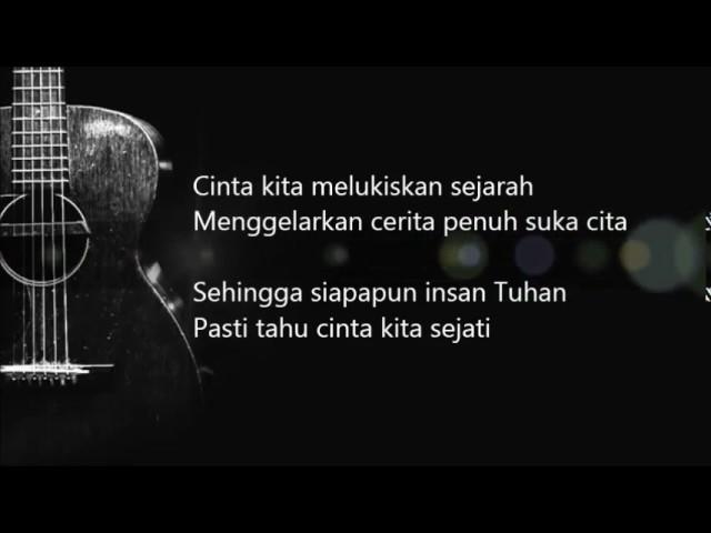 Bunga Citra Lestari - Cinta Sejati ( OST. Habibie Ainun)   (Official Lyric Video)