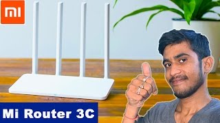 Mi WiFi Router 3c India | Best Budget WiFi Router 2017