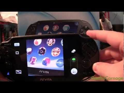 Playstation Vita Cameras and Photo App + Samples