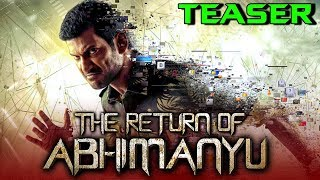 The Return of Abhimanyu (Irumbu Thirai) 2019 Official Hindi Dubbed Teaser | Vishal, Samantha, Arjun