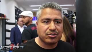 """Robert Garcia """"Chavez Jr is going to be way bigger, He"""