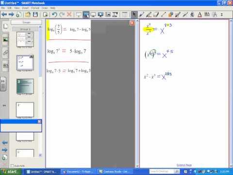 Properties of Logarithms (Part 1) - LT10