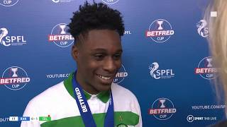 """The best game ever!"" Jeremie Frimpong's incredible interview!"