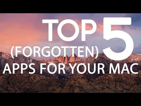 Top 5 (Forgotten) Applications for Mac