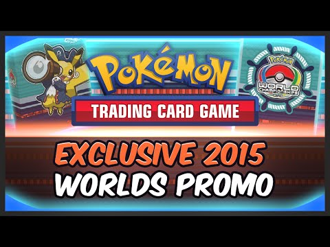 PTCGO: 2015 Pokemon World Championships Promo Code Opening!