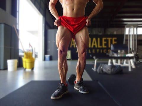 Big Legs Without Squats?? | Alphalete Leg Workout | Grubbsfit Productions