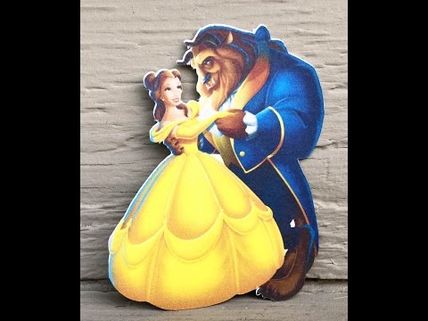 SILHOUETTE SUNDRIES | PRINT N CUT | BEAUTY AND THE BEAST | TUTORIAL |
