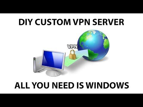 Create Your Own VPN in Windows