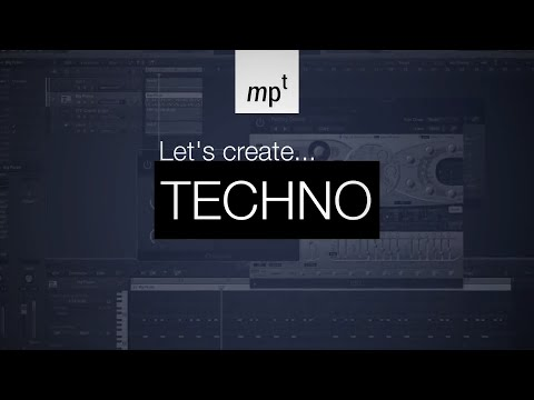 Logic Pro X - LET'S CREATE: Techno