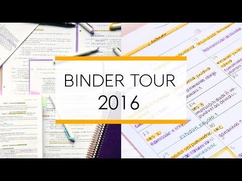 Binder Tour / Leaf Through 2016 || Binder Organization
