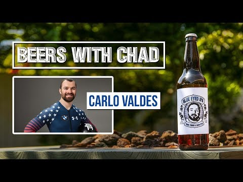 Beers with Chad #9   Olympic Bobsledder Carlo Valdes