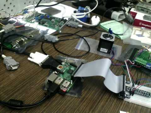 Raspberry Pi GPIO Stepper Motor Control