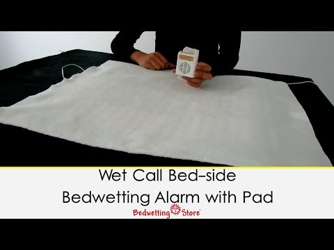 Bedwetting Store - Wet Call Bed-side Bedwetting Alarm with Pad