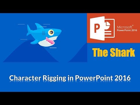The Shark | Character Rigging in PowerPoint 2016 | The Teacher