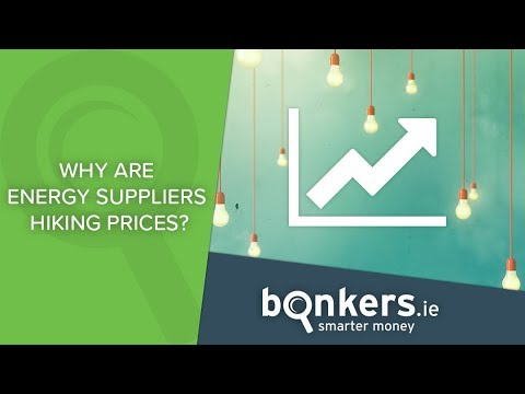 Why are energy suppliers hiking prices?