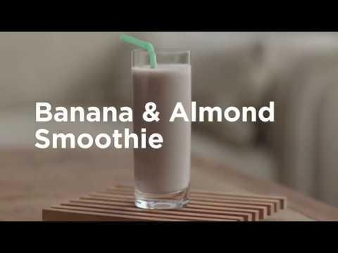 Banana and Almond Smoothie Recipe
