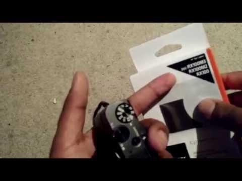 Sony RX100 IV (Mark 4) - Grip Installation