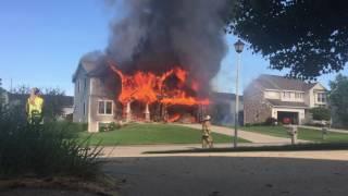 House fire 23 July, 2016