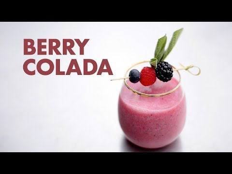 Berry Colada Cocktail Recipe with BACARDI® Mixers