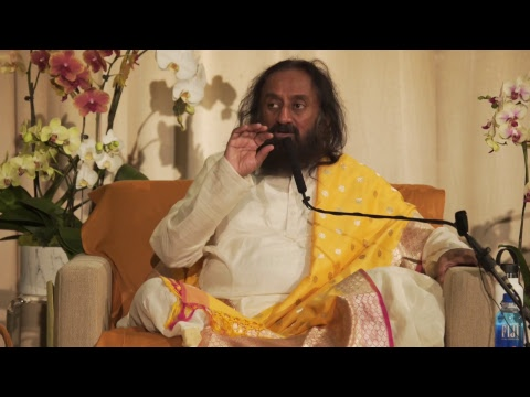 Satsang with Gurudev Sri Sri Ravi Shankar from Los Angeles