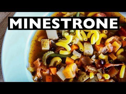 VEGAN REV - EASY OLIVE GARDEN Inspired Minestrone Soup How To - EP 31