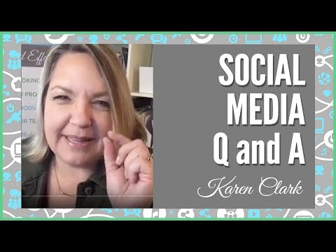 Social Media Lunch and Learn with Karen Clark 2-24-17