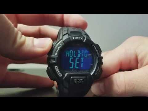Set Time and Date on Timex IRONMAN Watch