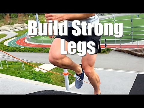 Hill Sprints for Strong Legs