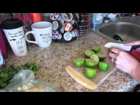 Cilantro Lime Chicken Tacos {Crockpot} | Lauren Benet