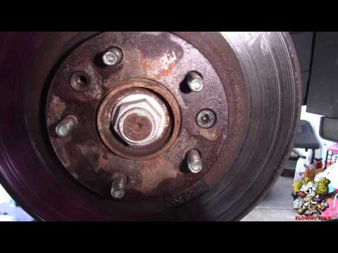 How to Remove a stripped Brake rotor screw