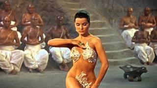 The Indian Tomb - Debra Paget - Snake Dance Scene - HD
