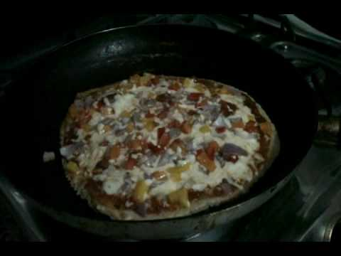 No Oven Pizza Video Recipe - Pan Pizza(Indian Style)