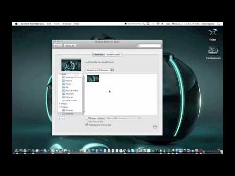 How to Change Your Menu Bar Color & Get old Mac Dock [Mac][HD]