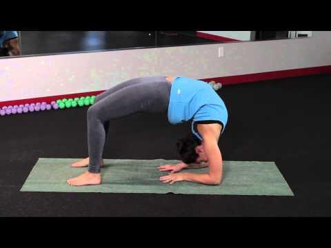 How to Do a Bridge on Your Forearm : Yoga, Backbends & Bodywork