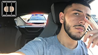 I GOT PULLED OVER!! (Crazy cop experience)
