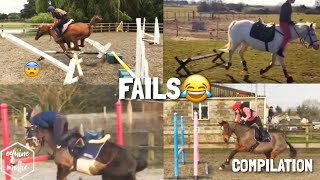 Horse Falls & Fails Compilation | Equinemollie