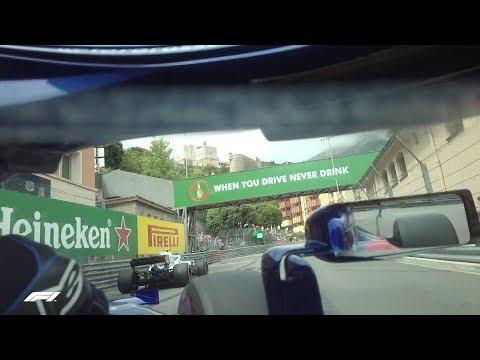 Helmet Cam with Pierre Gasly! | 2018 Monaco Grand Prix