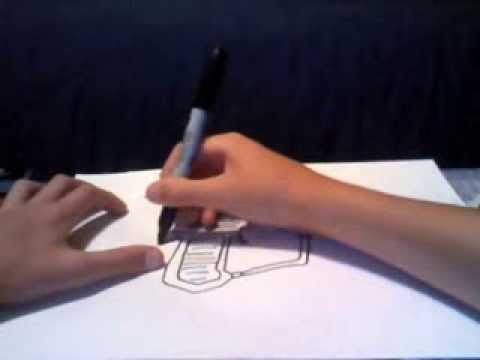how to draw the ray gun from black ops