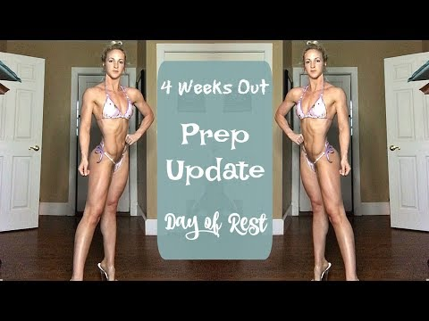 Day of Rest   Bikini Prep Update   4 Weeks Out