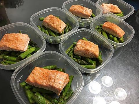 Salmon & Asparagus | MEAL PREP