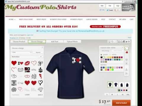 Custom Polo Shirts - Design Your OWN Custom Polo Shirts Online!