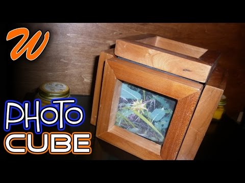 How To Make A Photo Cube | 3D Wood Photo Frame
