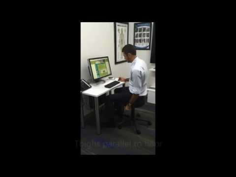 Healthy Hacks - Correct Desk Sitting Posture
