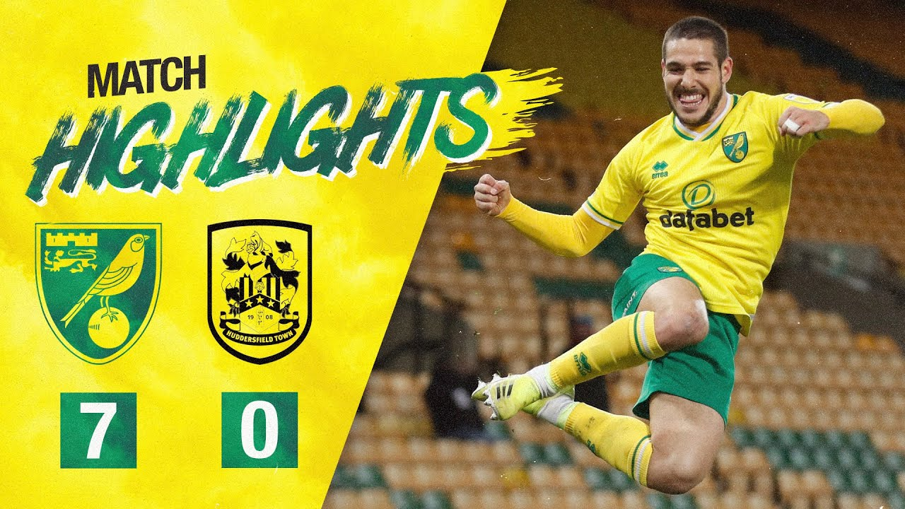 HIGHLIGHTS | Norwich City 7-0 Huddersfield Town