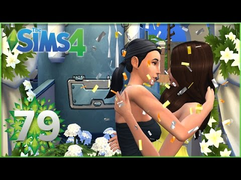 Sims 4: Lily and Zoe Get Married!! - Episode #79