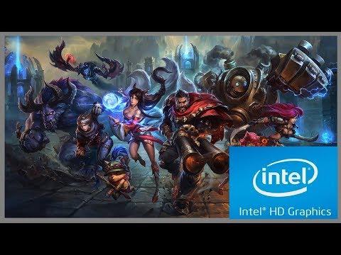 League of Legends on Intel HD/Intel Celeron N3060
