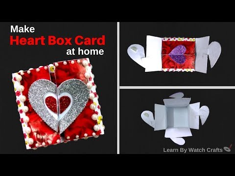 Make a Heart Box at Your Home (DIY)   Learn By Watch