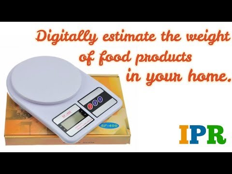 Electronic Kitchen Weighing scale SF400 @240 INR | Indian Product Reviewer