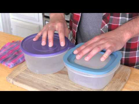 How to Heat Food in Plastic Containers : Kitchen & Cooking Advice